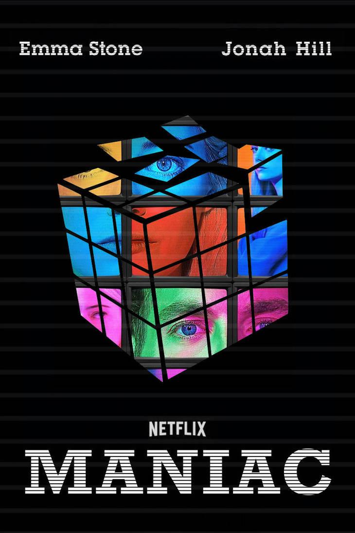 Maniac (Netflix) poster by DComp