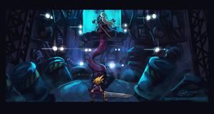 SGDQ2017-Final Fantasy 7 by knight-mj