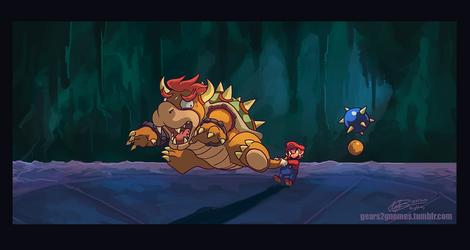 SGDQ2017-Super Mario 64 by knight-mj