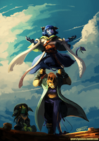 Critical Role - Standing by knight-mj