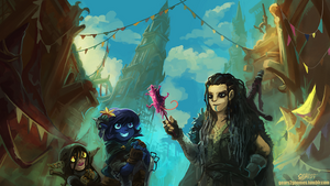 Critical Role Candy Rat by knight-mj