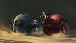 GW2 - The Roller Beetle Race by knight-mj
