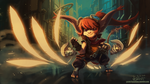 Rin the Yordle by knight-mj