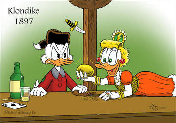 Scrooge and Goldie by TedJohansson