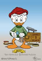 Ten-year-old Scrooge McDuck by TedJohansson