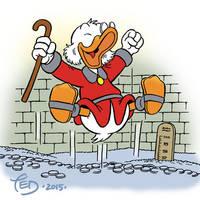 Happy Scrooge by TedJohansson