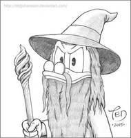 Gandalf McDuck by TedJohansson