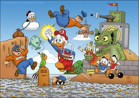 Super Mario Scrooge by TedJohansson