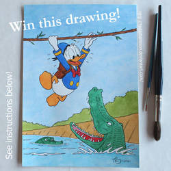 Win this drawing! by TedJohansson