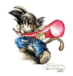Goku by Ellinor87