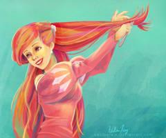 Ariel - The Little Mermaid by cactusrain
