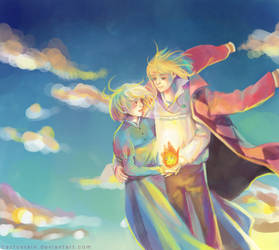 Howl's Moving Castle by cactusrain