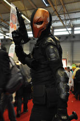 Deathstroke at FACTS 2015 by KillingRaptor