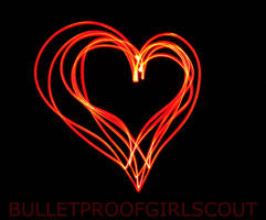 Light painting : Heart 1 by Bulletproofgirlscout