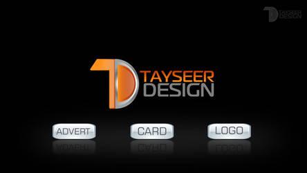 TAYSEER DESIGN NEW LOGO by ameen80