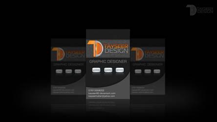 CARD TAYSEER DESIGN by ameen80