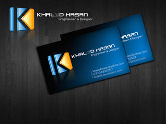 card KHALED by ameen80
