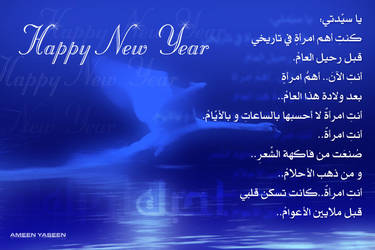 Happy New Year by ameen80