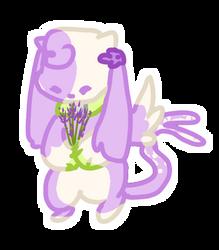 Lavender Sprigs by Hyliu