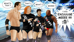 THE CORRE: debut at SMACKDOWN by Roselyne777