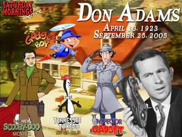 SATURDAY MORNINGS FOREVER REMEMBERS: DON ADAMS by WOLVERINE25TH