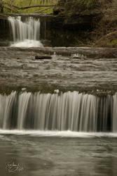 Double Fall at Glen Helen 2 by BuckNut