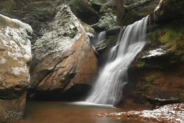 Side Falls at Cedar Falls by BuckNut