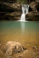Upper Falls Winter 2012 by BuckNut