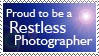 Restless Photographer Stamp 2 by BuckNut