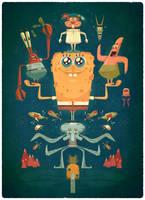 SPONGEBOB by jamesgilleard