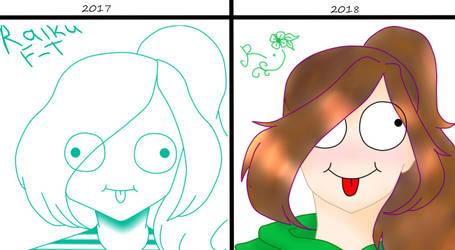 1 year later... by RaikuFreiheid-Tod