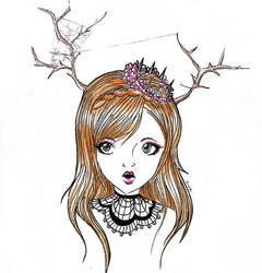 the queen by nue-koneko
