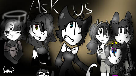 Ask bendy and friends by bonbonniexd