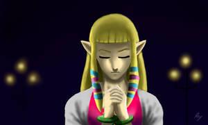 Princess Zelda by WeaponX-Art