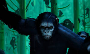 Dawn Of The Planet Of The Apes by WeaponX-Art