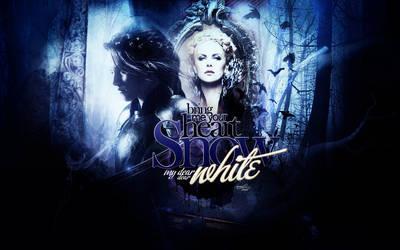 snow white wallpaper 1 by mia47