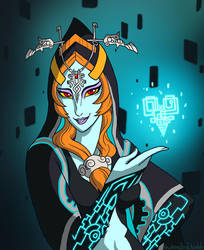 Midna Valentine by Humanoid-Magpie
