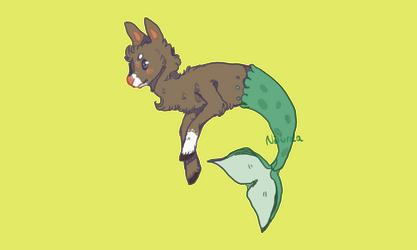 Mermaid Deer dta entry by Nituraa