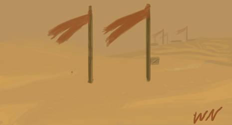 Haunted Wasteland by wayne-kun