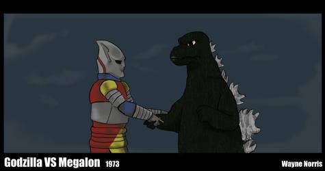 Movie 2: Godzilla VS Megalon by wayne-kun