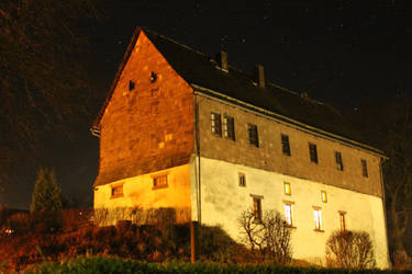 Castle Ottenstein at Night by Warlord103