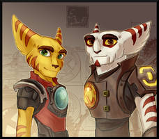 Kaden and Alister by BUGHS-22
