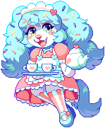 Commission - Sprinkles pixel by Flavia-Elric