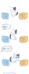 Cat logic by Flavia-Elric