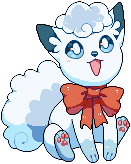 Alolan Vulpix pagedoll by Flavia-Elric