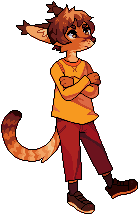 Art trade - pixel by Flavia-Elric