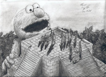 The Great Devourer by omg-im-a-duck