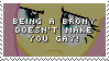 Stamp: Being a Brony doesn't make you gay! by ToonAlexSora007