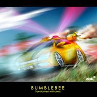 Bumblebee Animated Altmode by derob2511