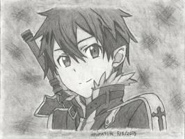 Kirito - Sword Art Online by ianime4life